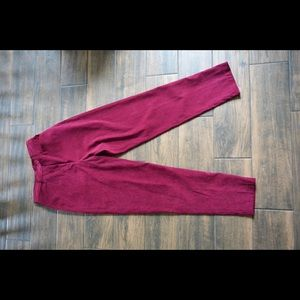 Pants - 1980s VNT suede high waisted pants